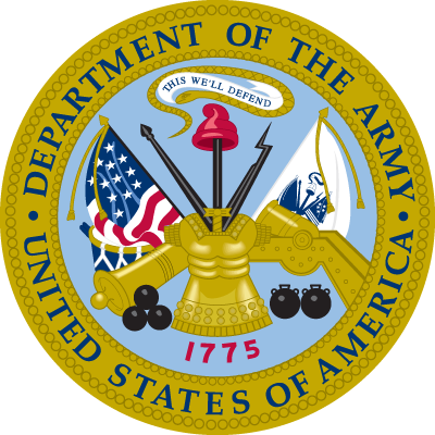 US Dept. of the Army seal